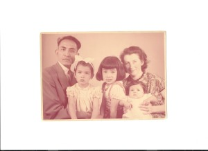 1956. A Diets-Vermeer family photo taken in Den Haag, Holland, a few months before destiny brought us to Ojai, California,  the land of sunshine and orange orchards